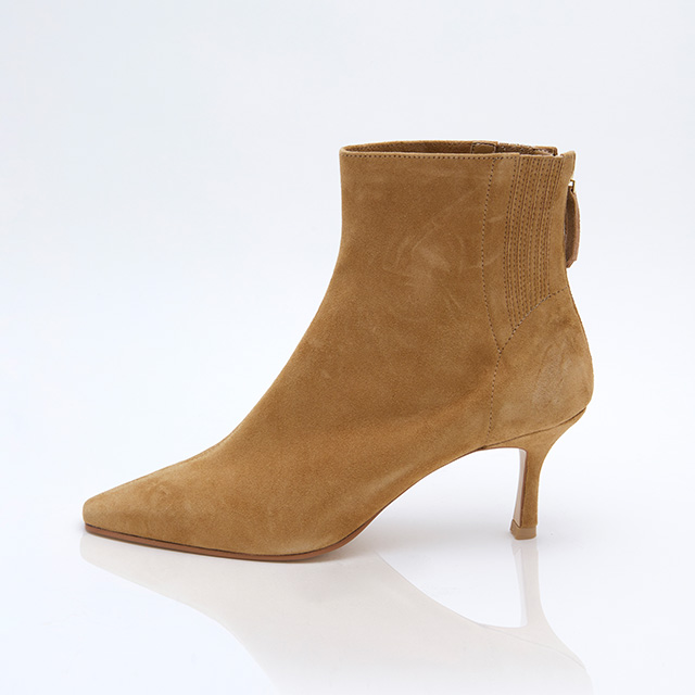 [hey,s made] Powder ankle boots